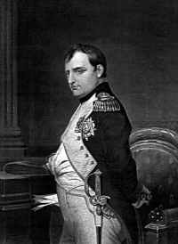 Portrait of Napoleon Bonaparte