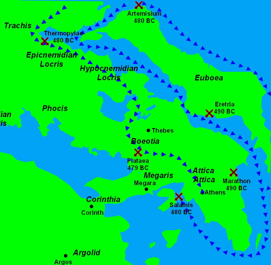 "greek victory in the persian invasion Victory & defeat in the greek world ch 5, section 3 ""earth and water"" in 492  bc king darius i of persia demanded ""earth and water"" from."