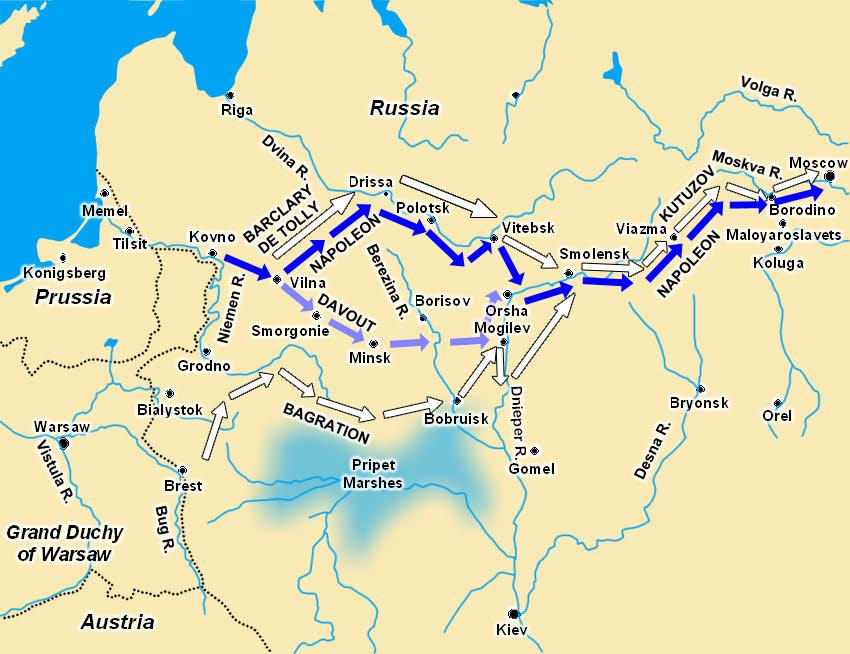 Napoleon - The Russian Front E.P.
