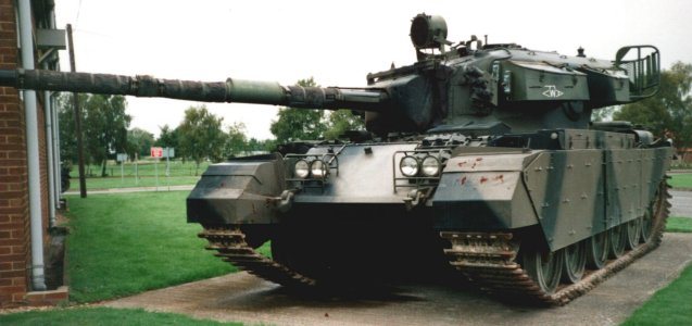 Picture of a Centurion Tank