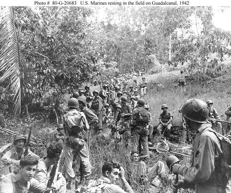 battle of guadalcanal Free essay: much of that fighting came at the battle of guadalcanal a remote island in the solomons island chain, guadalcanal was not thought of as.