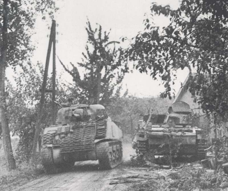 Operation Market Garden September 17 - 27 1944 - Allied tanks Pictures Market Garden
