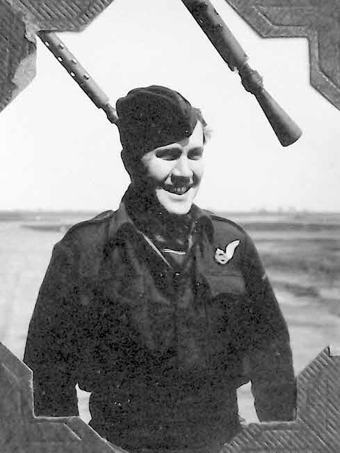 F/O Neville Baker, RAF