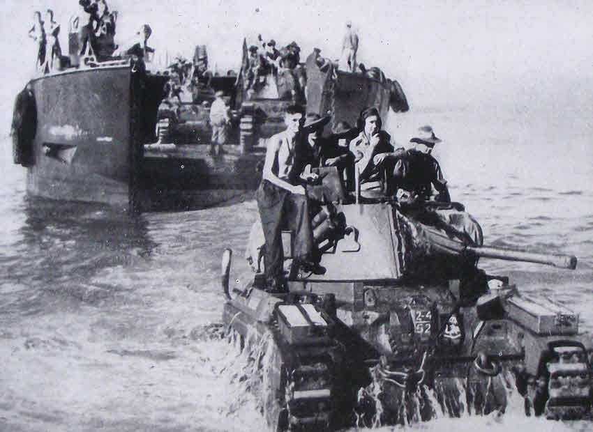 Australian Matilda Tank Leaves Us Lct