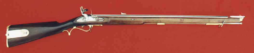 Picture of the Baker Rifle of 1806, the third pattern of the rifle