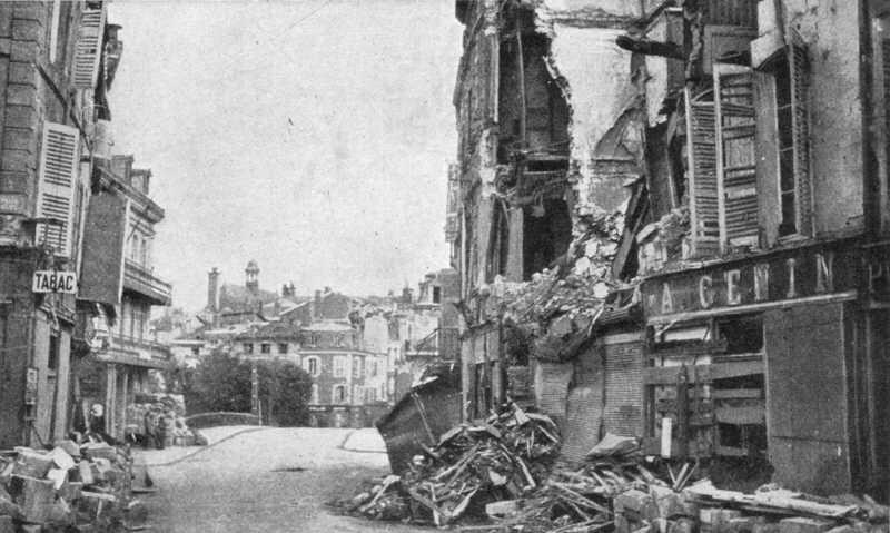 Beaurepair Bridge And Place Chevert Verdun 1916