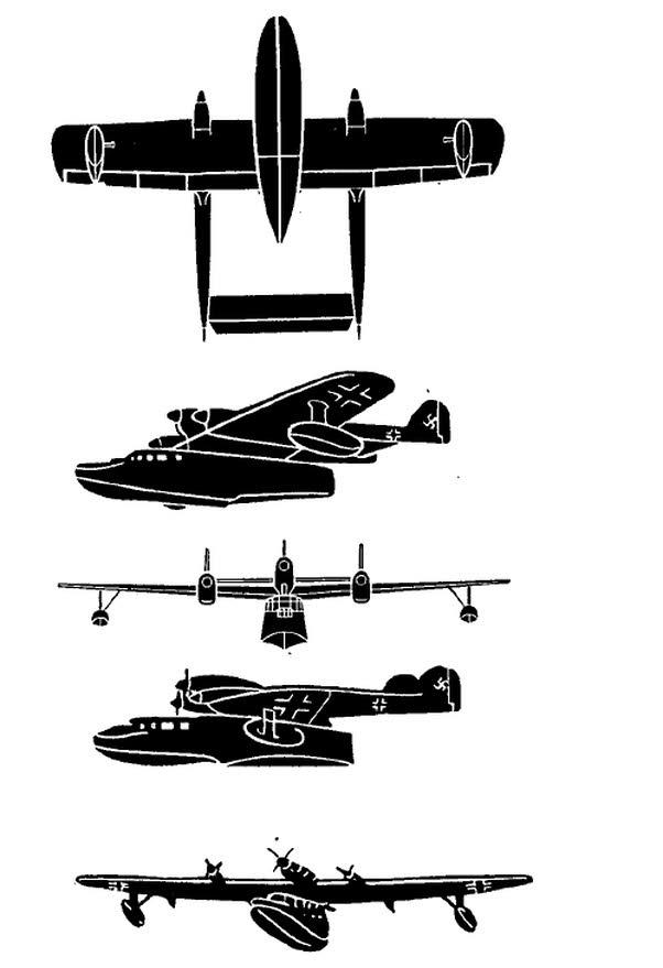 Blohm und Voss BV 138 Plans