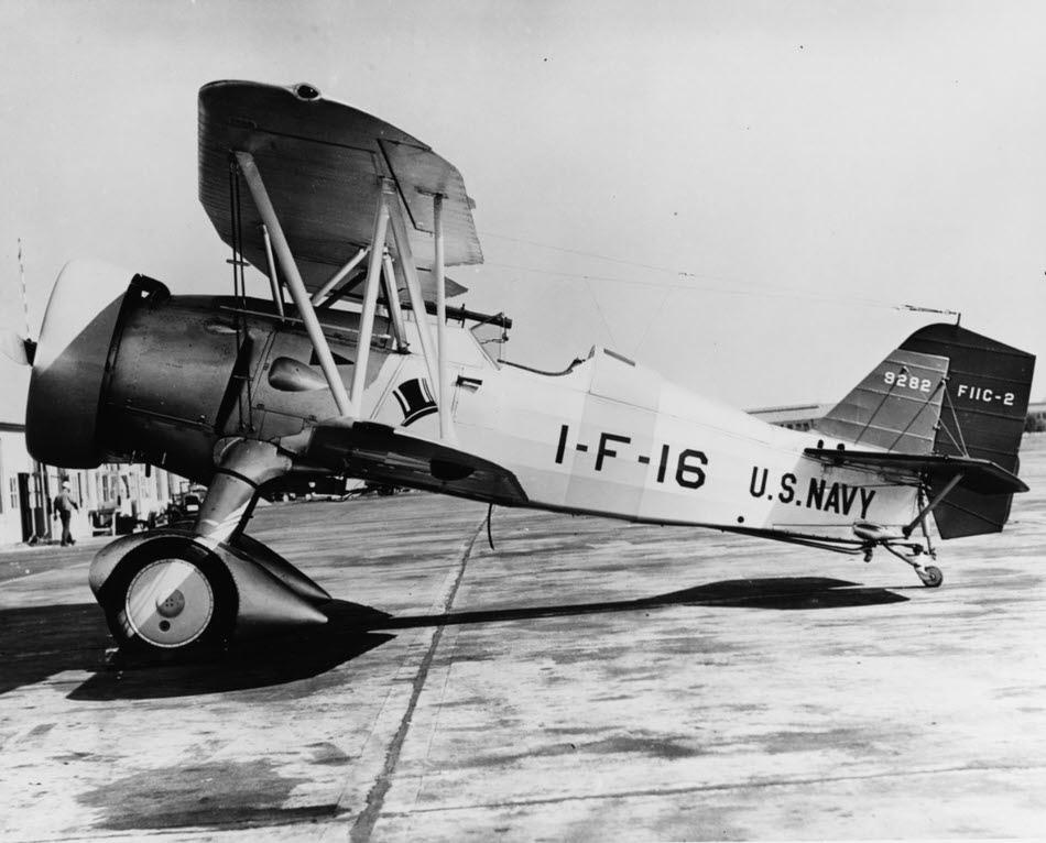 Curtiss F11C-2 Goshawk Of VF-1B, 1933-34