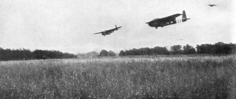 Hamilcar Glider Landings In Normandy