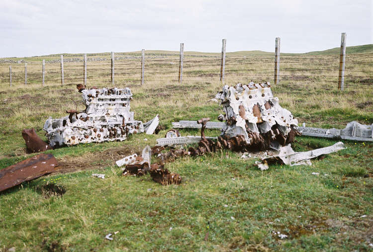 Engines Of He 111 H 2 On Fair Isle