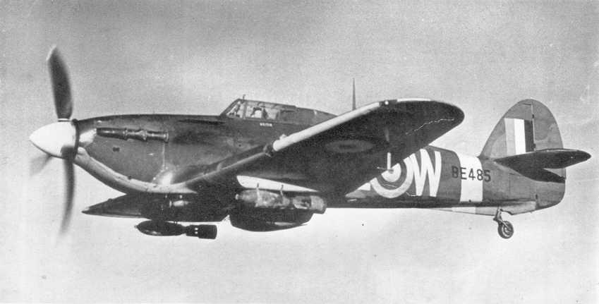 Hawker Hurricane Iib Hurribomber Of No 402 Squadron Rcaf