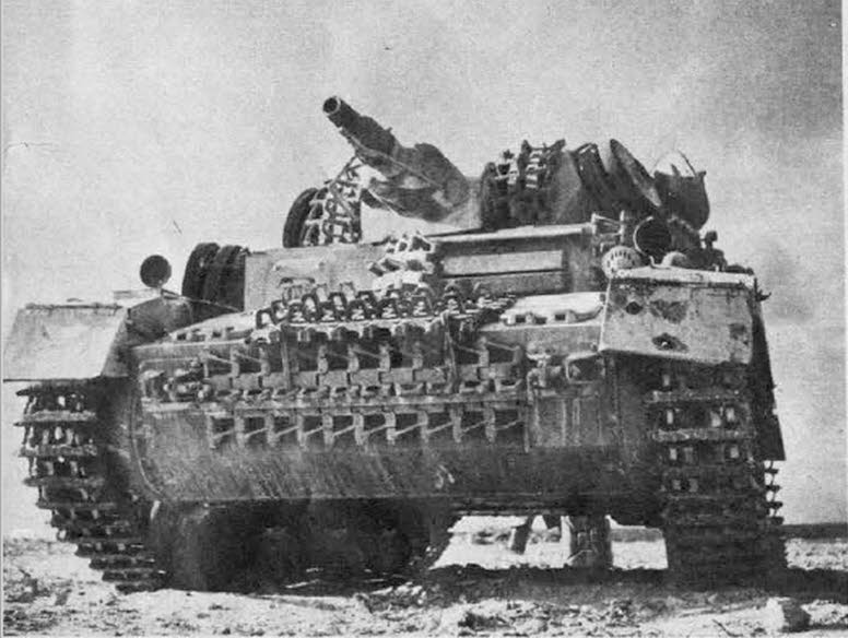 Panzer IV ausf D from front
