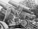 Breech end of 15cm K39