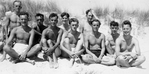 Group from No.293 Squadron on Italian Beach