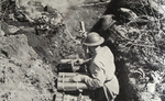 British 3in Mortar at Anzio