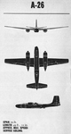 Plans of Douglas A-26B Invader