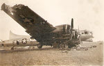 Boeing B-17G being salvaged for parts