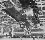 Boeing  B-29 wings under construction