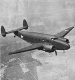 Lockheed C-60 Lodestar from front-right