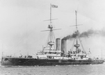 HMS Vengeance before 1904