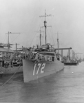 USS Anthony (DD-172), Mare Island, 27 June 1919