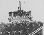 Officers and Crews of USS Dyer (DD-84), Dardanelles, 1919
