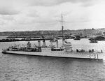 USS Hatfield (DD-231) at San Diego, early 1930s