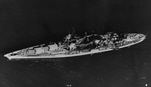 Aerial View of USS Louisville (CA-28)