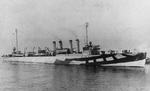 USS Manley (DD-74) in First World War Camouflage