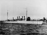 USS O'Bannon (DD-177) in harbour, 1920