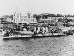 USS Porter (DD-59) at Queenstown, 4 May 1917