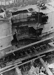 Damage to USS Stewart (DD-13) after collision, April 1918