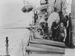 6-pounder gun and crew, USS Whipple (DD-15)