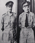 General Alexander and General Montgomery, 1942