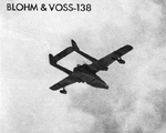 Blohm und Voss Bv 138 from below
