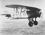 Boeing F3B-1 in flight, 7 January 1929