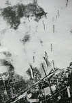 Bombs falling on Berlin, 29 April 1944