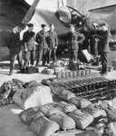 Kit Inspection for the crew of a Catalina