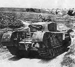 Front view of Churchill Mk.III