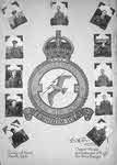 Crew of G for George, with No.86 Squadron Crest