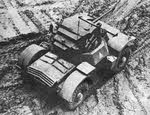 Daimler Armoured Car Mk.I from above