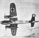 Dornier Do 217E from below