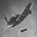 Douglas SBD Dauntless Dive Bombing