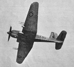 Blackburn Firebrand TF.III from below