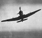 Blackburn Firebrand TF.III from the front