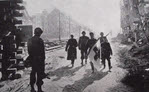 German Medics surrender at Coblenz