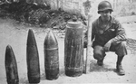 Four Dud German Shells, Anzio, 1944