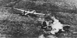 Heinkel He 177 attacked on the ground