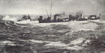 HMS Banshee in heavy seas