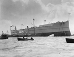 HMS Dreadnought after launch